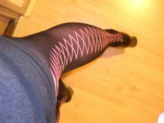 pink diamond stockings