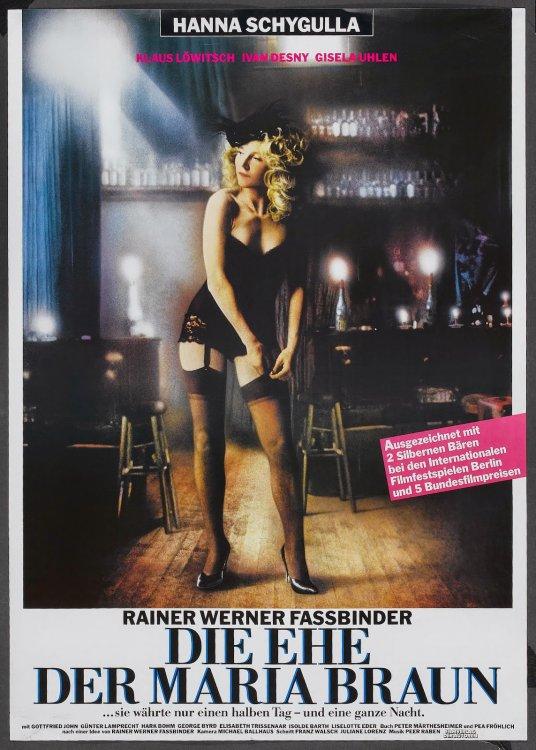 DIE EHE DER MARIA BRAUN - German Poster by Jean-Marie Troillard.jpeg